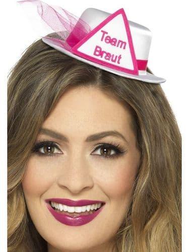 Team Braut Hat - White
