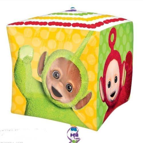 """Teletubbies Cubez Foil Balloons 15"""" x 15"""""""