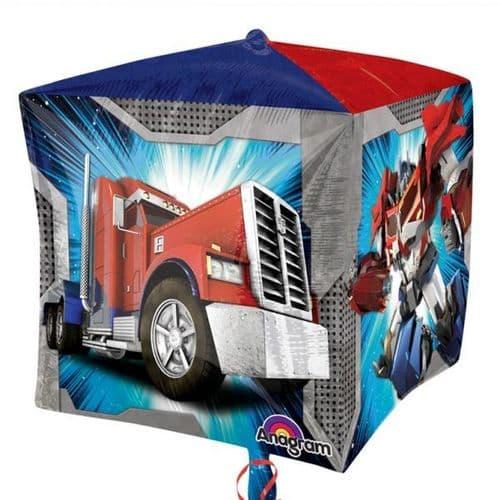 "Transformers Cubez Foil Balloons 15"""