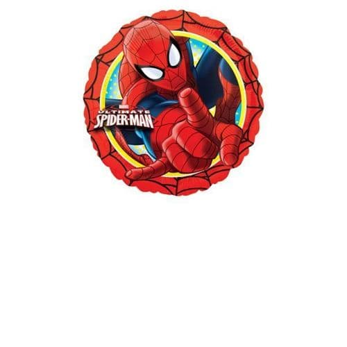 Ultimate Spider-Man Action Circle Standad Foil Balloons