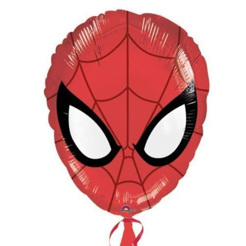 Ultimate Spider-Man Head Junior Shape Foil Balloons