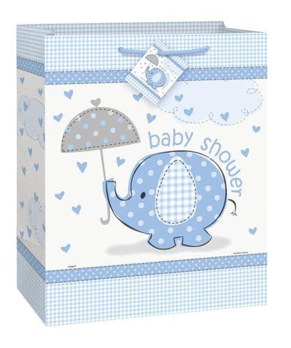 Umbrellaphants Blue Giftbag-Large