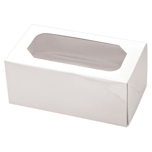 White Muffin/Cupcake Box + Insert  (holds 24 Cakes)