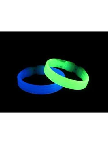 Wide Glow Bracelet