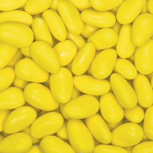 Yellow Smeraldina Sugared Almonds  (Whole Almond) - 30mm size - box of 1kg