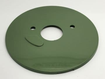 GPO Aircraft Green Plain Telephone Dial Back Plate