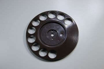 GPO Brown Rotary Telephone Finger Dial