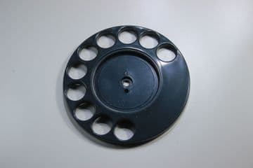 GPO Concord Blue Rotary Telephone Finger Dial
