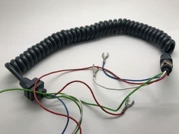 GPO Concord Blue Telephone Handset Cable (NOS)
