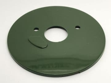GPO Forest Green Plain Telephone Dial Back Plate