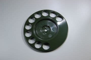GPO Forest Green Rotary Telephone Finger Dial