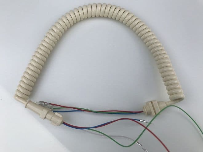 GPO Ivory Telephone Handset Cable