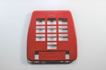 GPO Lacquer Red 10 Button Telephone Keypad Bezel