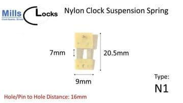 20.5mm x 7mm x 9mm - Type N1