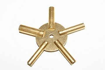 5 Prong Star Clock Key