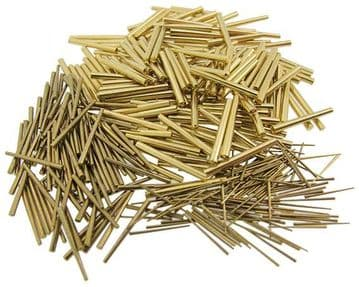 Assorted Brass Tapered Pins