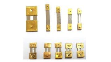 Brass Clock Pendulum Suspension Springs (10s)