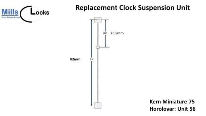 Kern Miniature 75, 400 Day Suspension Unit (Unit 56)