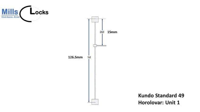 Kundo Standard 49 (Unit 1) Suspension Complete Unit