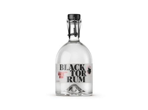 Black Tor Premium Organic White Rum 70cl 40% abv