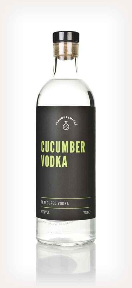 Flavoursmiths Cucumber Vodka 42% abv 70cl