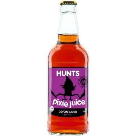 Hunts Pixie Juice Cider 3.8% abv 500ml