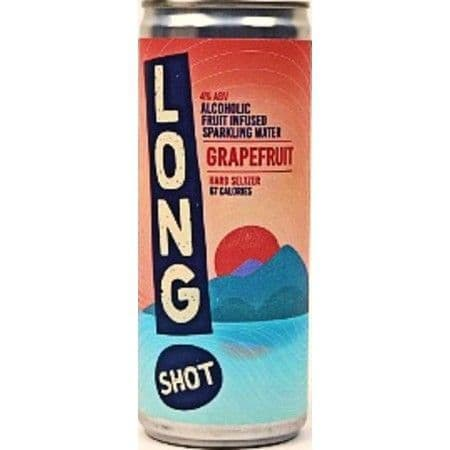 Long Shot Hard Seltzer Grapefruit 250ml 4% abv