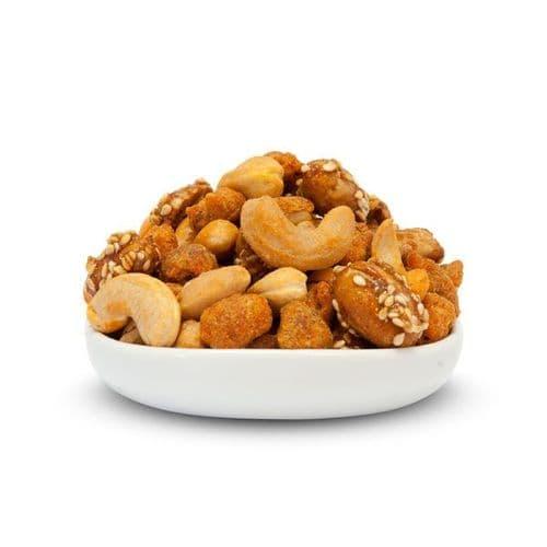 Mix 10 – Salted, Caramelised & Spiced Mix Of Nuts 1kg Bulk Bag