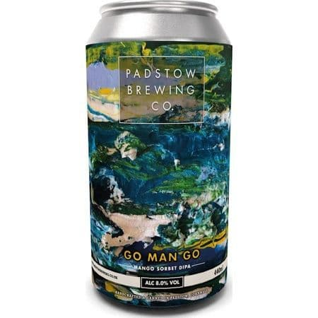Padstow Brewing Co Go Man Go 8% abv 440ml