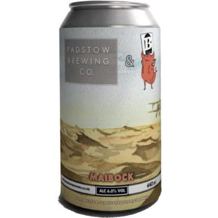 Padstow Brewing Co Maibock 6% abv 440ml