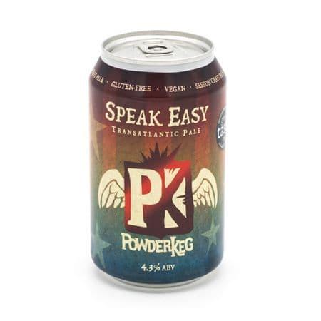 PowderKeg Speak Easy Gluten Free Beer 330ml