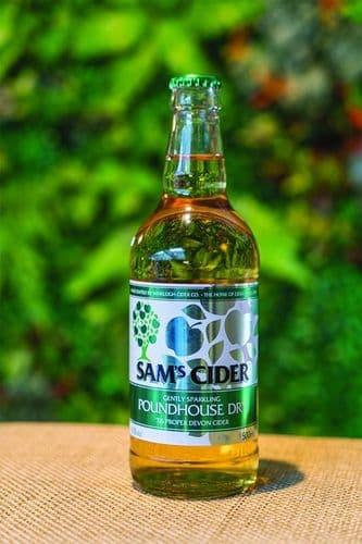 Sam's Poundhouse Dry 500ml 6% abv