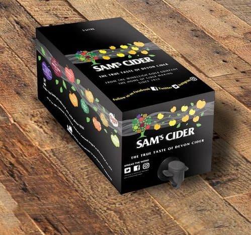 Sams Cider  5 Litre Bag in Box
