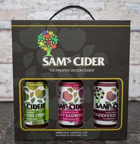 Sams Cider Gift Pack - 3 x 500ml Bottles