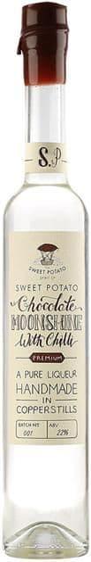 Sweet Potato Chocolate & Chilli Moonshine 22% abv 50cl