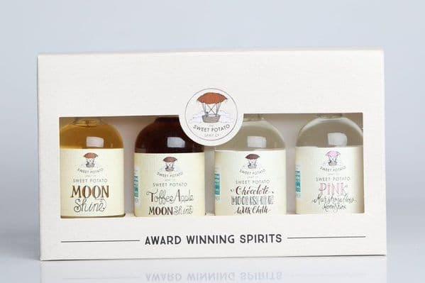 Sweet Potato Moonshine Gift Box 4 x 5cl