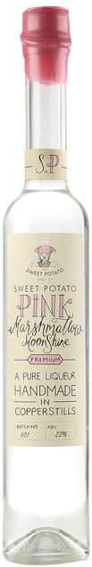 Sweet Potato Pink Marshmallow Moonshine 22% abv 50cl
