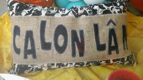 Cushion Calon Lan
