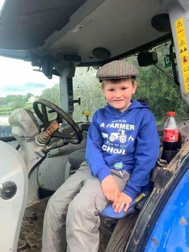 Ganed i Ffermio / Born to be a farmer