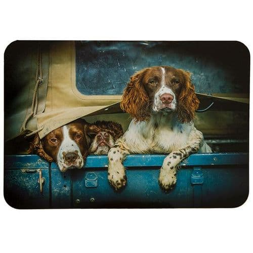 Country Matters Spaniels in Landy Placemat