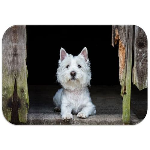 Country Matters Westie Placemat
