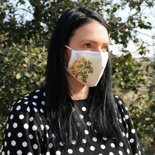 Golden Tree - Reusable Fashion Face Covering (Adult)