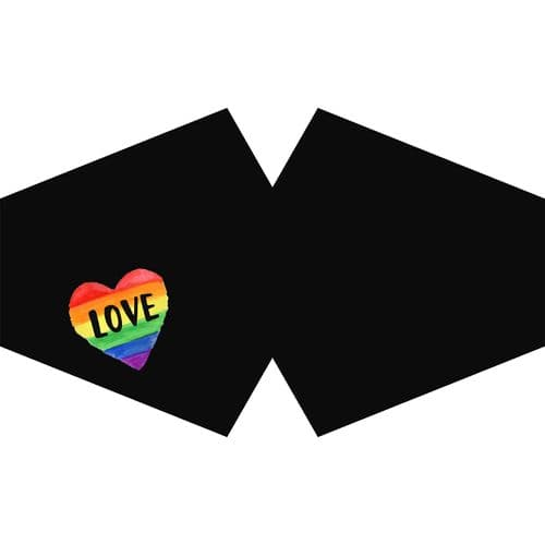 Love is Love Reusable Fashion Face Covering (Adult)