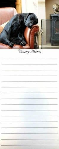 Sleeping Labrador 50 Page Memo Pad, by Country Matters