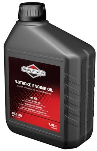 Briggs and Stratton Engine Oil 1.4 Litres Product Code 100006e