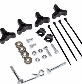 ATCO Lower Handle Bolt Fixing Kit Part Number 381008614/3