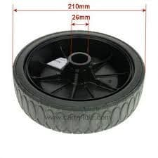 Atco Rear Wheel d=210 Part Number 381007337/0