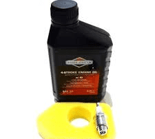 Briggs and Stratton Sprint 375 Late Type Engine Full Service Kit (Air Filter, Oil and Spark Plug)