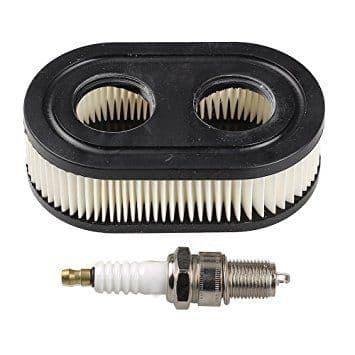 Briggs and Stratton Sprint 450e, 500e, 550e Engine Part Service Kit (Air Filter and Spark Plug)