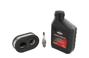 Briggs and Stratton Sprint 575e Engine Full Service Kit (Air Filter, Oil and Spark Plug)